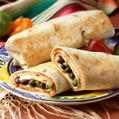 Mexican Bean & Turkey Burrito