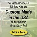 Custom Made in the USA at our plant in Amesbury, MA